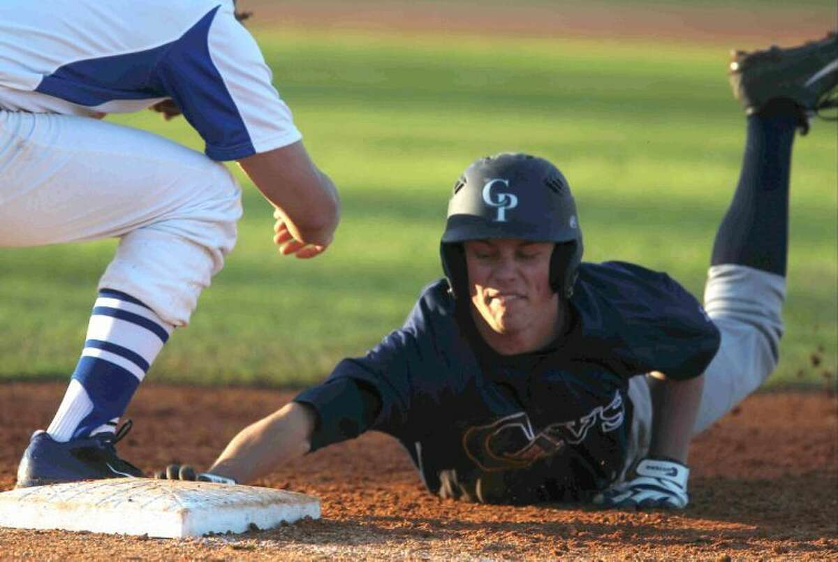 College Park's Jacob Mardick, shown here playing against Cy Creek on Thursday, led the way for the Cavs on Friday against Huntsville.