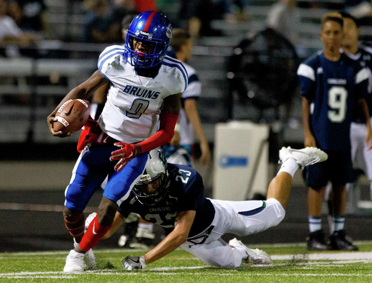 2. West Brook (6-0) This Week: With a 49-28 win over College Park, the Bruins set up an undefeated clash with No. 7 state-ranked The Woodlands next week. Next: plays host to The Woodlands