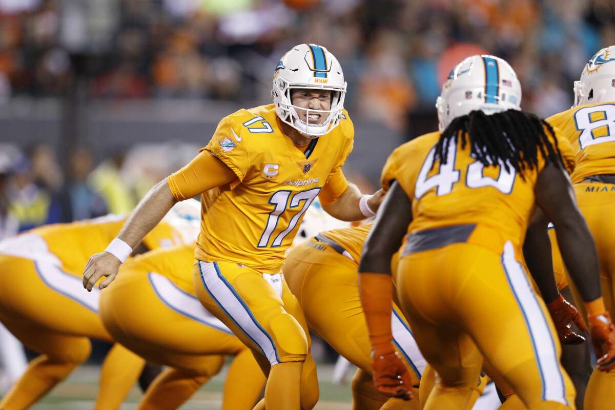 31. Miami Dolphins (1-3): The only thing that looked worse than Miami's