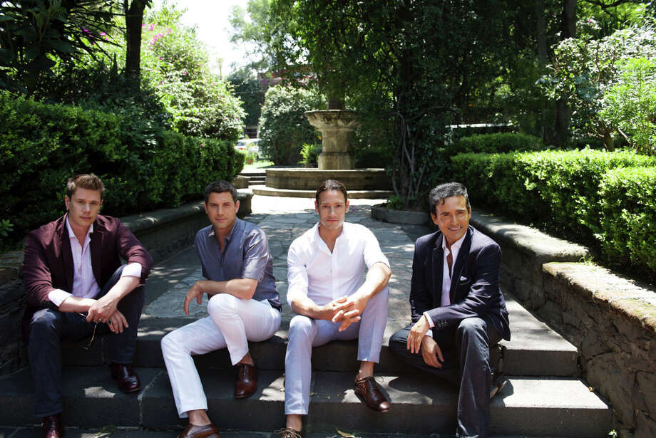 The international sensation, Il Divo, will perform at Foxwoods Resort Casino on Friday, Oct. 7. Members are American tenor David Miller, left, Frenchman Sebastien Izambard, Swiss tenor Urs Buhler and Spanish baritone Carlos Marin. Photo: Il Divo /Contributed Photo / Connecticut Post Contributed