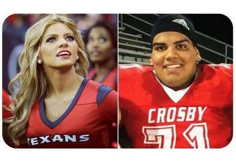 Houston Texans cheerleader Caitlyn agreed to go to prom with Crosby senior Mike Ramirez if he got 10,000 retweets of his proposition.