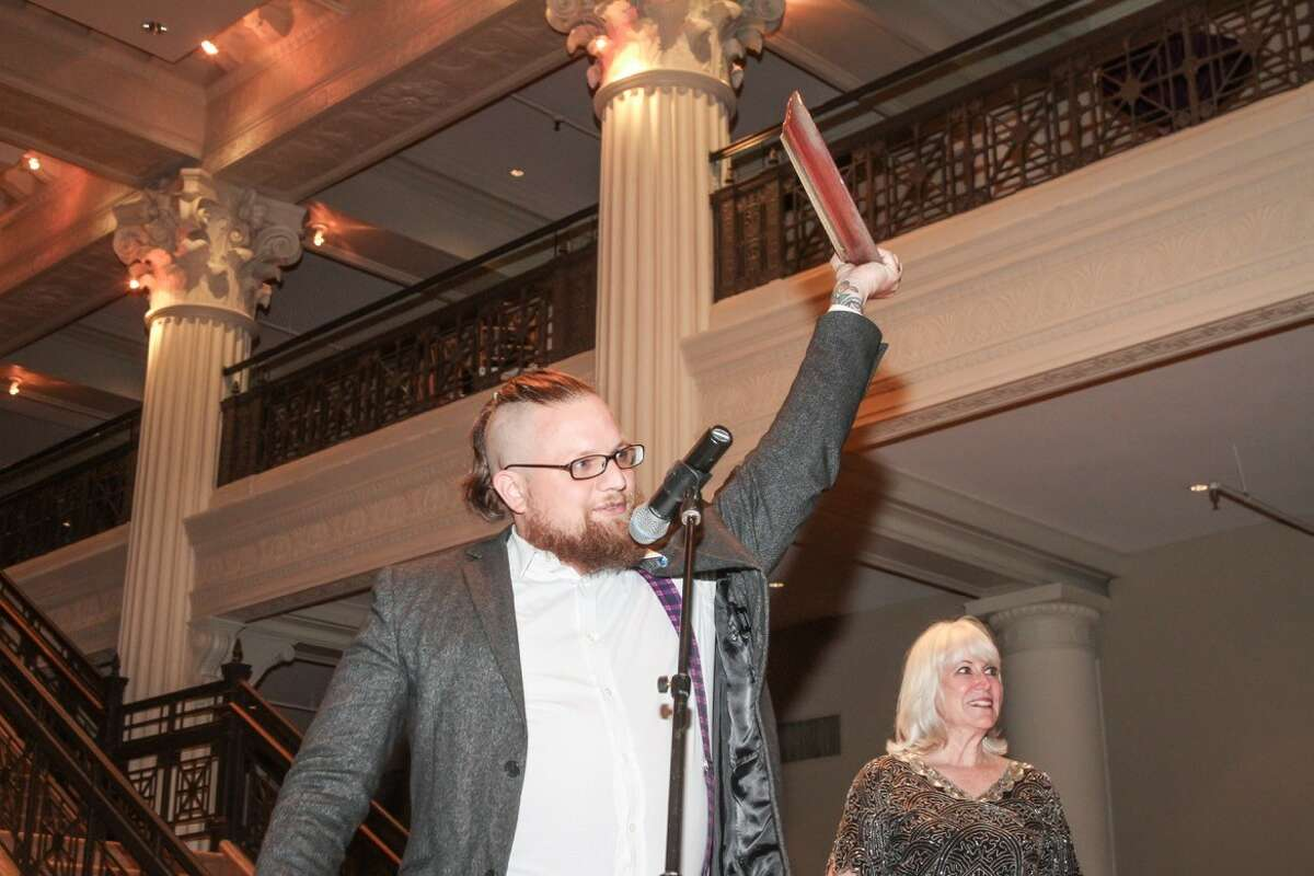 The 2016 Houston Culinary Awards presented by My Table magazine were announced Sunday, Oct. 2. Shown: Chris Morris, bartender at Hunky Dory, who won Favorite Bartender in the Houston Foodie Star Awards.