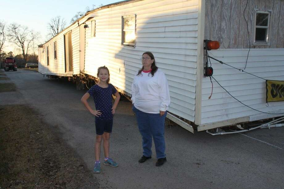karleen kelley expected to be moving into her used mobile home this week however the - Mobile Home Frame