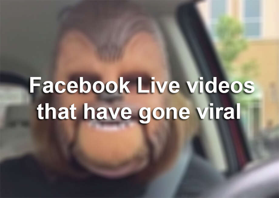 Keep clicking to view surprising, funny or shocking Facebook Live videos that have gone viral. Photo: Facebook