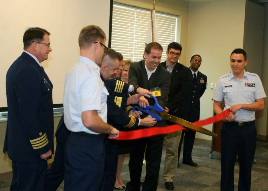 The U.S. Coast Guard Sector Houston-Galveston/Interagency Operations was officially dedicated Monday morning at a ribbon cutting ceremony. Photo: Unknown