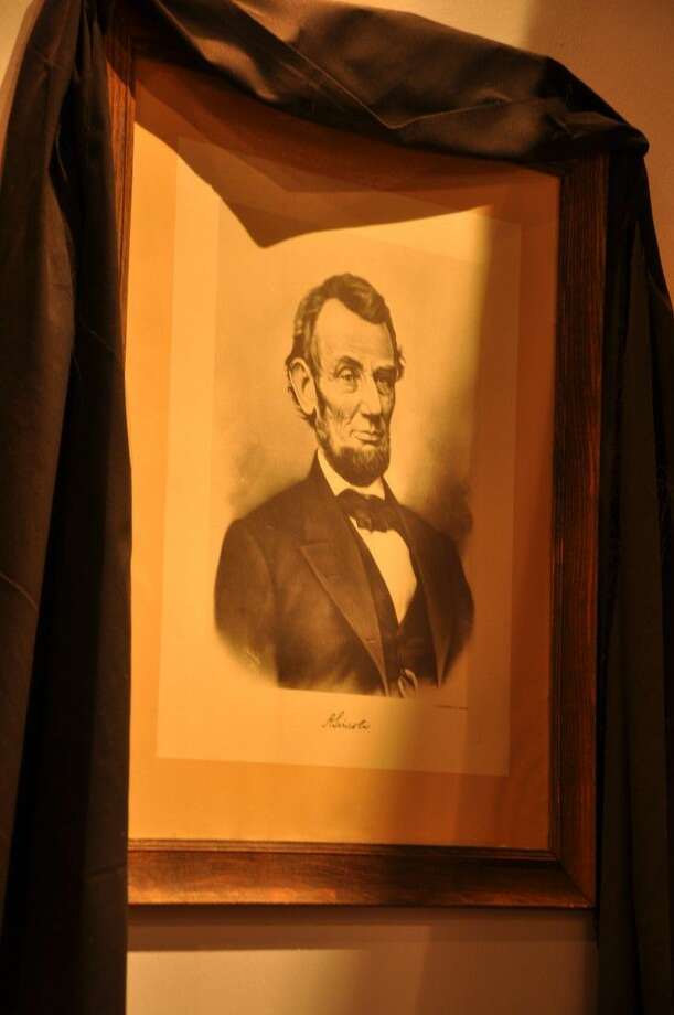 This photo is from the Abraham Lincoln section of the National Museum of Funeral History's Presidential Funerals exhibit.