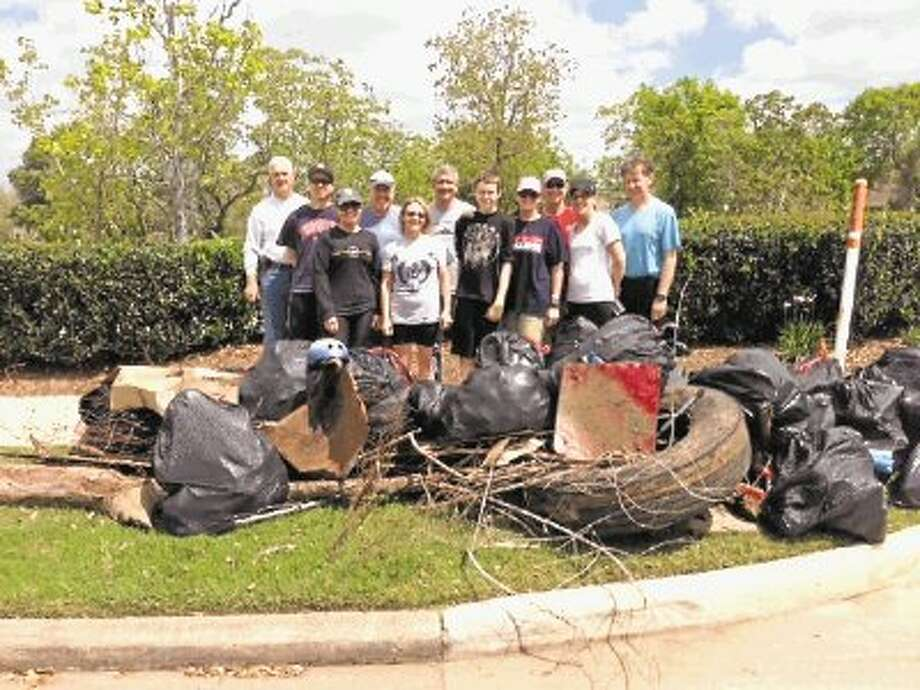 "A scene from Keep Sugar Land Beautiful's past participation in the annual ""Don't Mess With Texas Trash-Off."" Photo: Submitted Photo / @WireImgId=2662935"