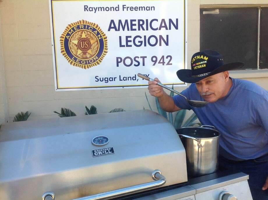 """The American Legion Post 942 will host a Chili Fest Contest in Sugar Land on Feb. 7. Jimmy Zamora says """"No beans"""" in the chili and he's not kidding when he says all are invited to compete in the contest. The fun-filled time among friends takes place at the Legion Hall at 311 Ulrich St. starting at 9 a.m. Trophies will be awarded to winning teams after the judging of chili and stew at 3 and 4 p.m., respectively."""