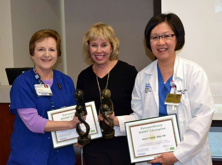 DAISY Foundation Champions Tricia Lewis and Sally Shen. Photo: Photo Courtesy HMSLH