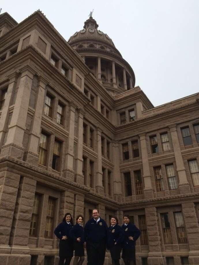 Pasadena and Sam Rayburn High School's FFA Chapters attended the fifth annual Agricultural Education and Texas FFA Day at the Capitol hosted by the Texas FFA Association and the Vocational Agriculture Teachers Association of Texas (VATAT).