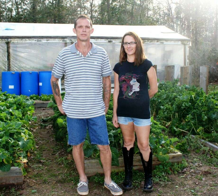 Father and daughter duo Eric and Marie Morgan have created their own self-sustaining farm called Starseed Farm in Cleveland. Photo: Stephanie Buckner