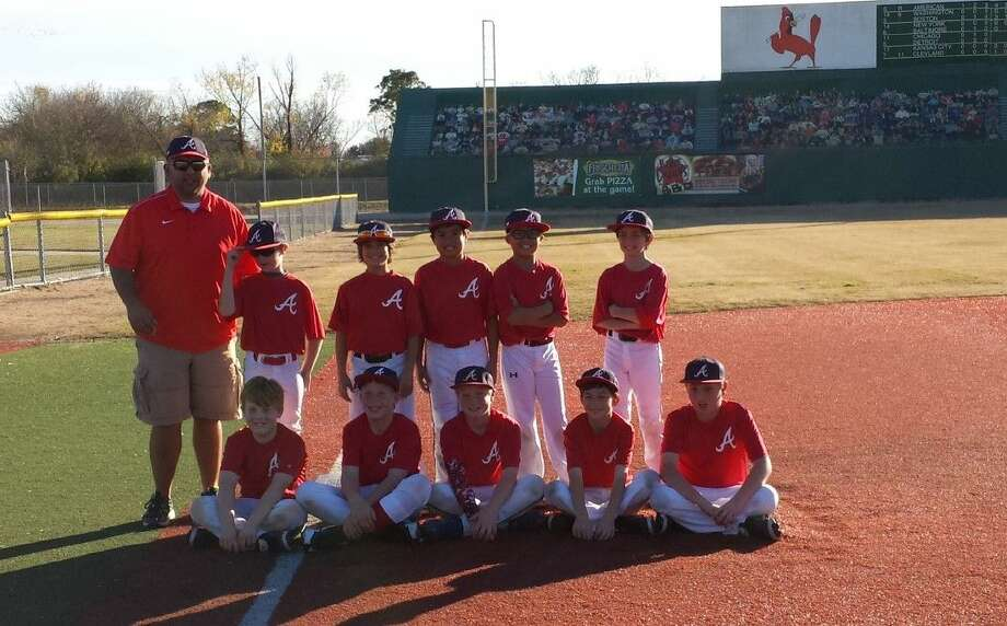 Pictured from left (kneeling) are: Paul Smith, Trent Caram, Jarett Michalec, Matthew Chotiner, and Caden Biedermann. Pictures from left; (standing) are: Manager James Madrid, Joseph Redell, Peter Sall, Chris Jacinto, Joshua Endo, and Andrew Michael. Not pictured are Wyatt Leathers and Wilson Woodcox.