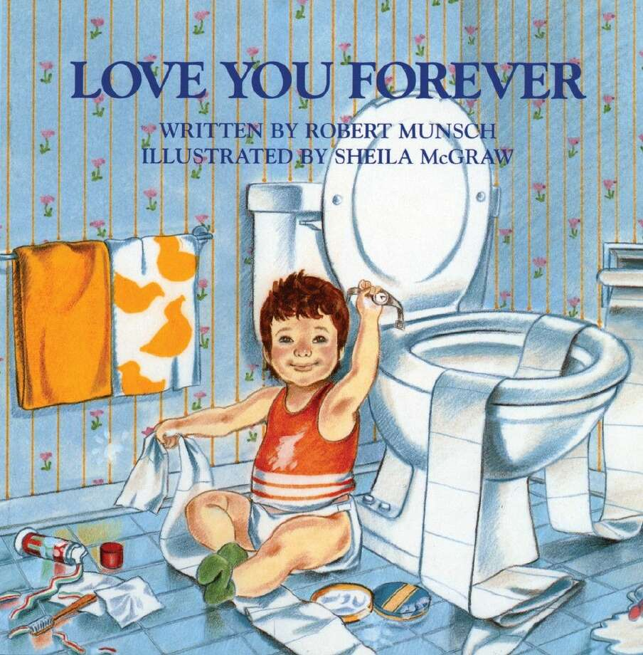 """""""Love You Forever"""" with illustrations by Sheila McGraw."""