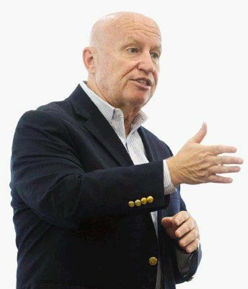 In this Oct. 2014 file photo, U.S. Rep. Kevin Brady, R-The Woodlands, speaks during a town hall meeting in Conroe. Photo: Jason Fochtman