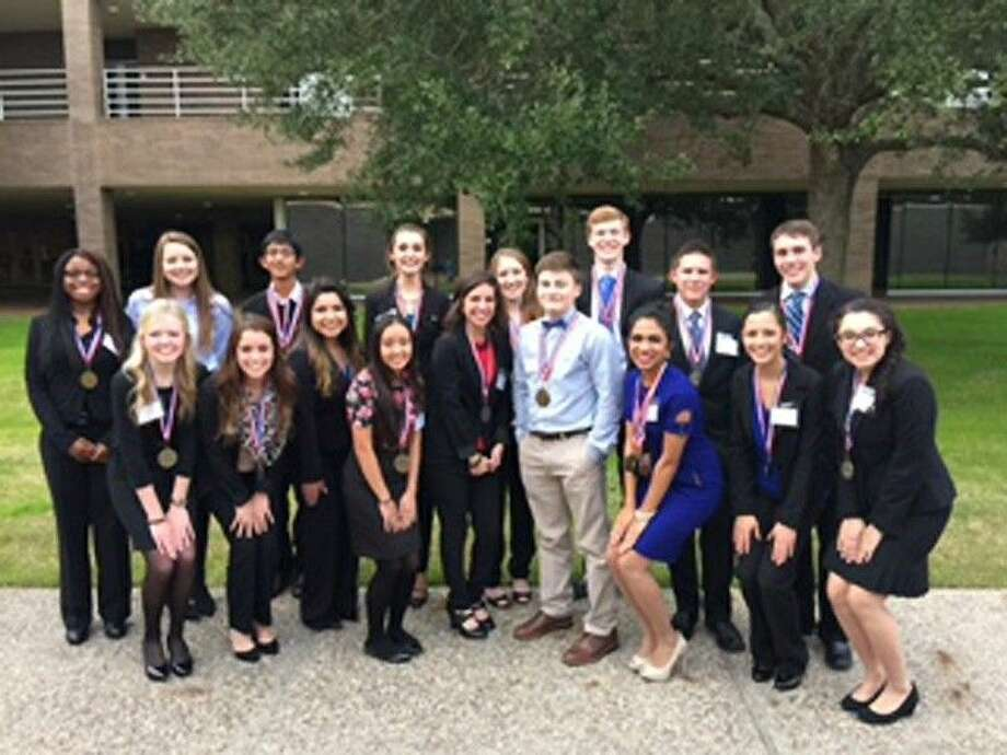 Friendswood High School had 20 Business Professionals of America members place at their regional event January 17. Of those, 18 have qualified for state contest.