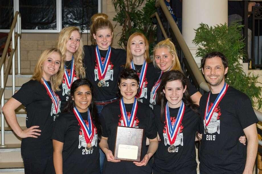 Academic Decathalon team from Magnolia High School. Photo: MISD