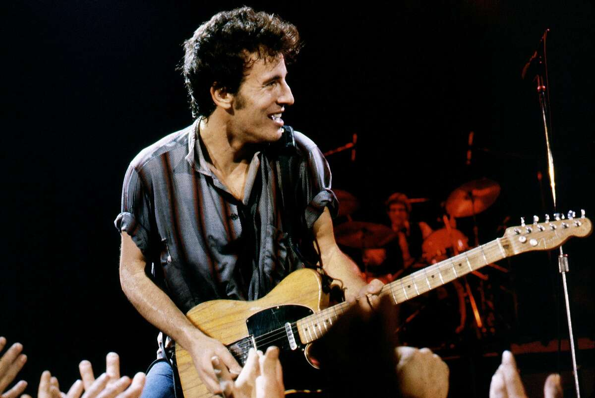 Bruce Springsteen performs at Winterland in San Francisco on Dec. 16, 1978.