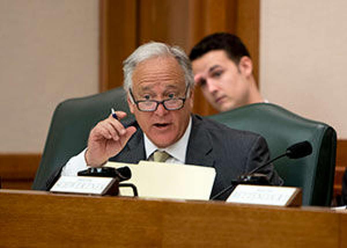 Senator Kirk Watson of Austin is pushing open-government legislation that cleared the Texas Senate on Thursday.