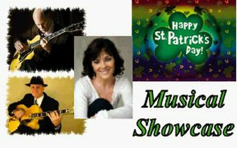 "Monday, March 17, from 6-9 p.m., join the staff and entertainers of Cafe du Bois on the patio for ""Musical Showcase."" Brian Turner, Pamela Saxon and Danny McKnight will share the stage to entertain guests with a wide variety of songs."