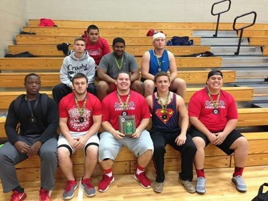 Crosby powerlifters competed in the Katy Mayde Creek meet bringing home seven medals and some impressive numbers for the Cougars early in the season.