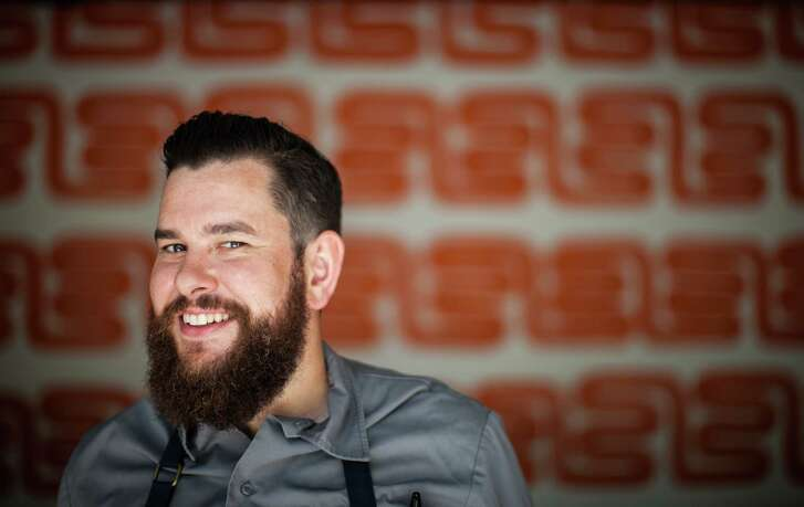 NOTE: THIS PHOTO IS FOR TOP 100 RESTAURANTS GUIDE. DO NOT USE BEFORE 09/24/2015. Pax Americana: Chef Adam Dorris Pax Americana's Chef Adam Dorris. Photographed, Thursday, July 9, 2015, in Houston. ( Nick de la Torre )