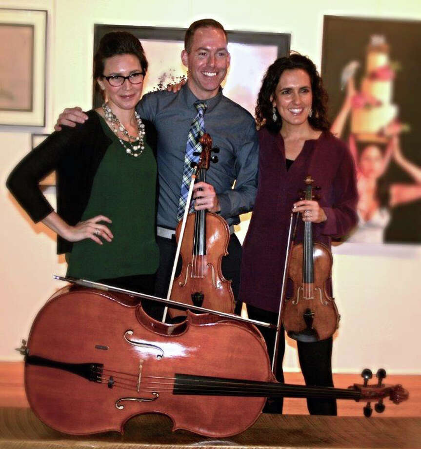A special concert featuring the Scape Trio,  Nicole Sharlow, Joseph Dermody and Adriana Maria Pera, joined by harpist Lisa Tannenbaum, is set for 7 p.m. Oct. 20 at Greenwich Arts Council Meeting Room, 2nd Floor, 299 Greenwich Ave,. as part of Greenwich Reads Together sponsored by the Greenwich Library. Free, but reservations required. For reservations, call 203-862-6750; for information on Greenwich Reads Together, visit www.greenwichlibrary.org. The program features music by Handel, Debussy, Strauss, Hasselmans and Stravinsky. Photo: Contributed