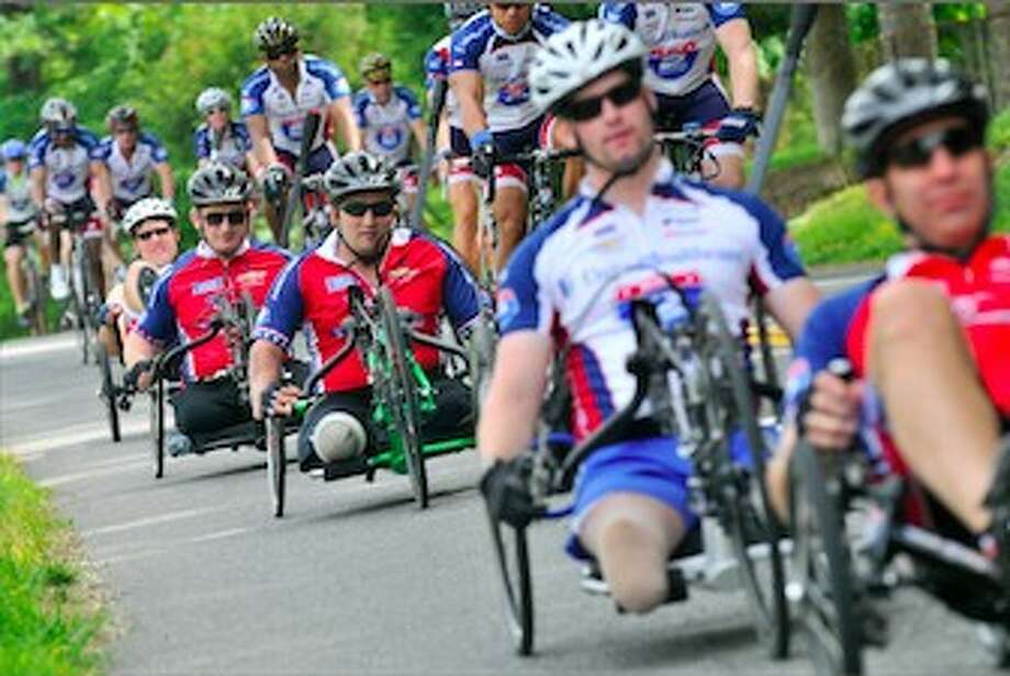 Ride 2 Recovery Challenge will take place Sunday March 23. Tomball is the first stop for particpants. More than 200 injured veterans and active military duty cyclists are participating in the event.
