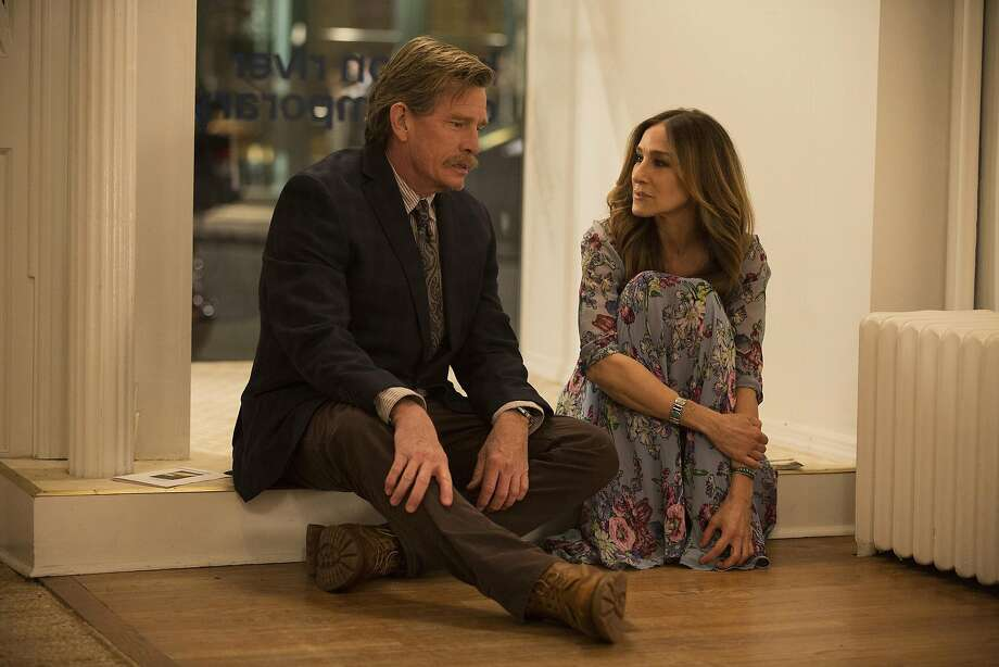 "Thomas Haden Church and Sarah Jessica Parker star as a troubled couple in HBO's ""Divorce."" Photo: Craig Blankenhorn/HBO, TNS"