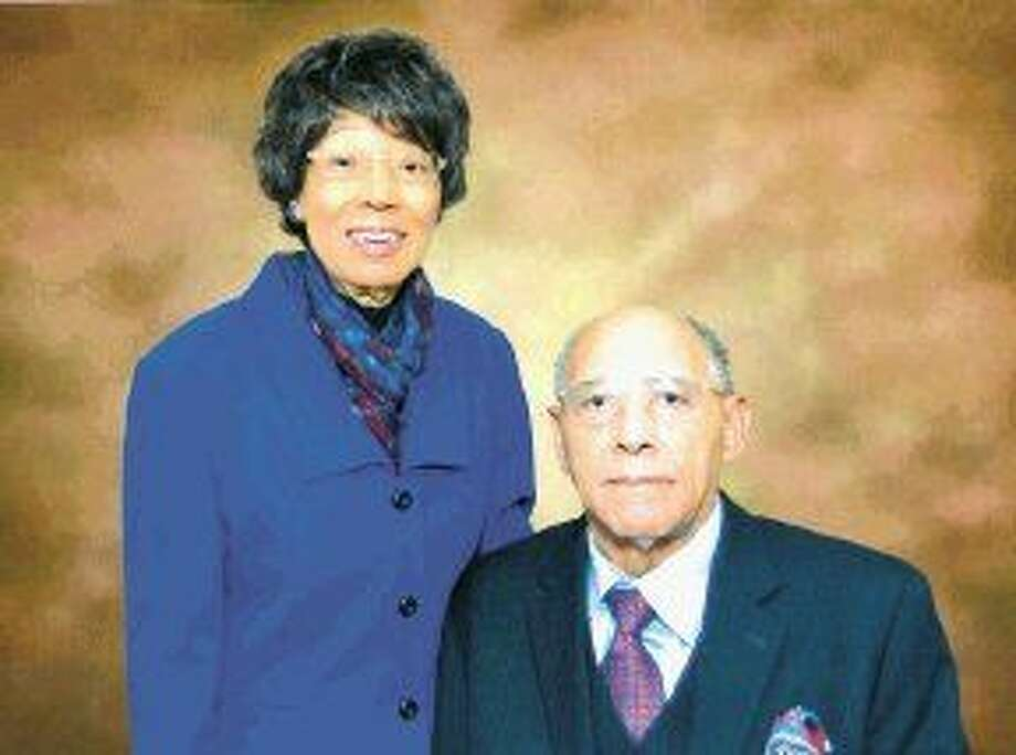 Willie Lee Gay, a distinguished Houston educator and historian, will be honored Feb. 26 at a Black History Month celebration HCC Central's South Campus, 1990 Airport Blvd. HCC opened a college building bearing her name at the South Campus in 2003. Accompanying Mrs. Gay is her husband, Vergel Gay Sr.