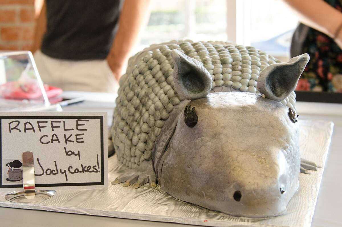The third annual Depressed Cake Shop will be held on Oct. 9 at Paulie's, 1834 Westheimer. The event, which features gray baked goods (to signify depression), is a fundraiser to help raise awareness of mental illness. Shown: Some of the baked goods for sale at last year's event.