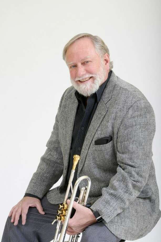 Trumpeter and College of the Mainland professor Sparky Koerner, along with the Brazosport Jazz Orchestra, provided the back up for actress and jazz singer Molly Ringwald in her recent Lake Jackson performance. Photo: Courtesy College Of The Mainland