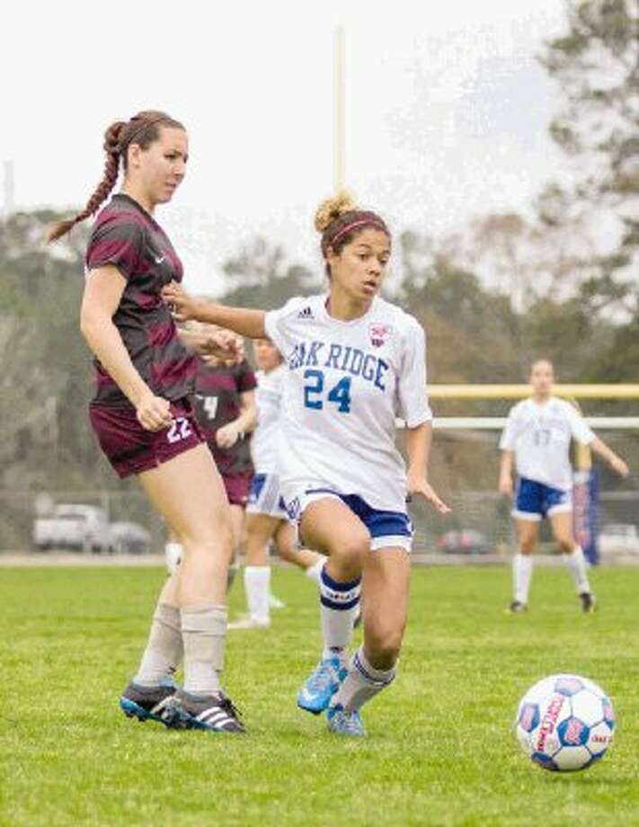 Kamri Brown and Oak Ridge will face Westlake in the area round. / The Conroe Courier