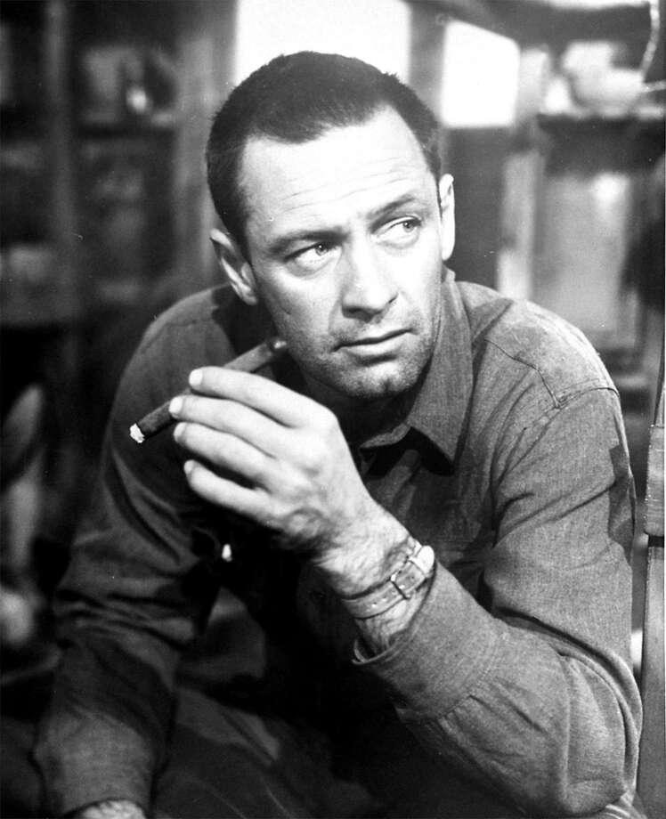 """William Holden won an Oscar in Billy Wilder's POW film """"Stalag 17."""" Photo: AP"""