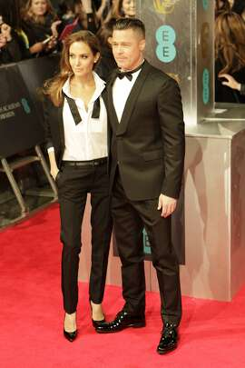 Angelina Jolie and Brad Pitt in 2014