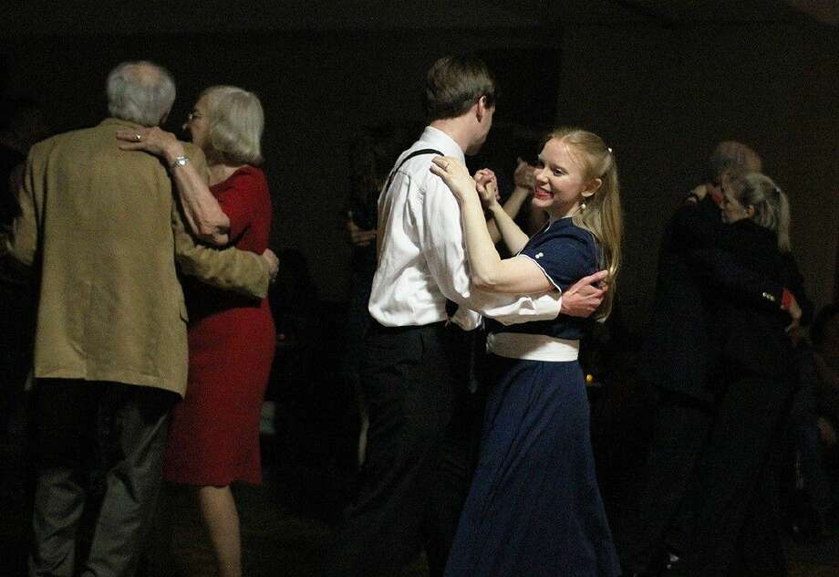 Dancers take to the floor during the Alvin Community College Big Band concert in 2015. The concert helps raise funds for the ACC Music Department and alumni scholarships.