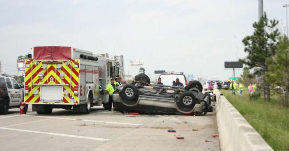 Humble police responded to a fatality accident the afternoon of Friday March 21, 2014. Photo: Nate Brown
