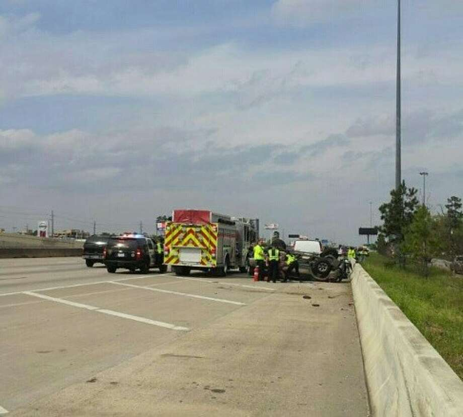 Humble Police investigating fatal accident on Hwy  59 near