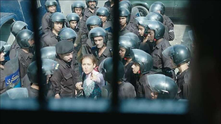 "A scene from the Egypt's ""Clash,"" which opens the Arab Film Festival. Photo: Arab Film Festival"
