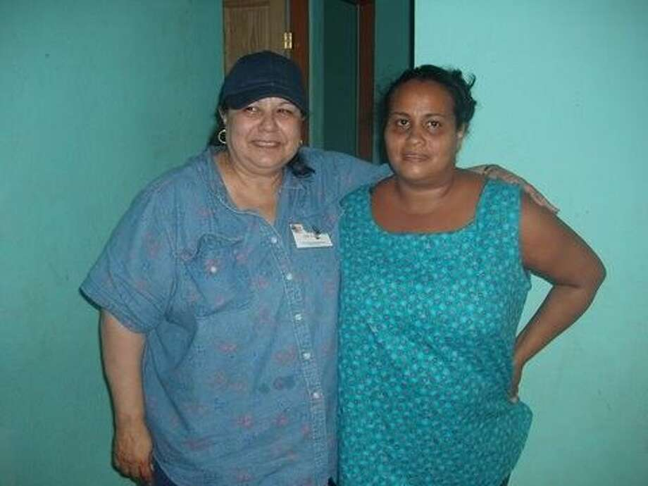 Ellie Davis, left, has spent years volunteering at various nonprofit organizations in Humble until she fell ill. Her fellow church members are working to renovate a home for her to live in when she leaves the hospital next month and seek any help from the community. Photo: Picasa 2.7