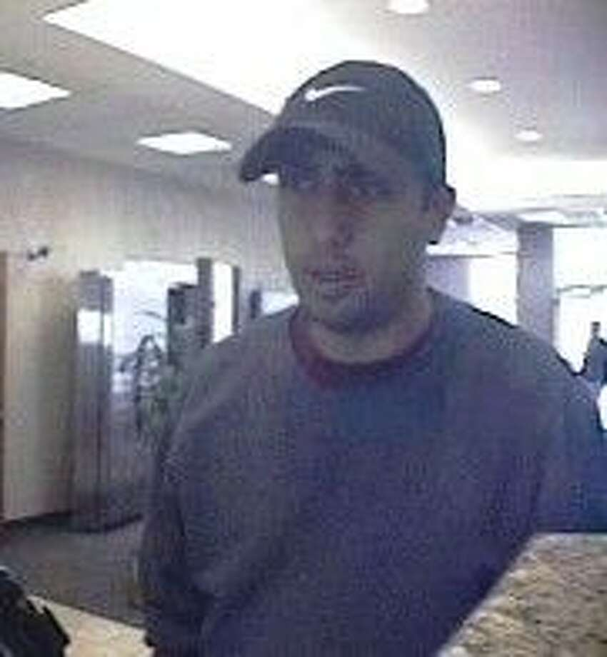 Surveillance photo of the robber.