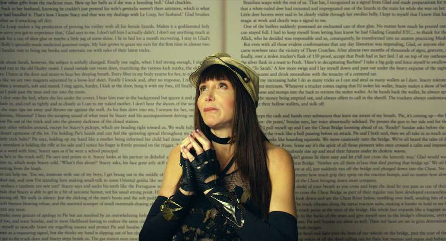 """This image released by Magnolia Pictures/Amazon Studios shows Laura Albert from the film, """"Author: The JT LeRoy Story."""" (Magnolia Pictures/Amazon Studios via AP) ORG XMIT: NYET999 / Magnolia Pictures/Amazon Studios"""