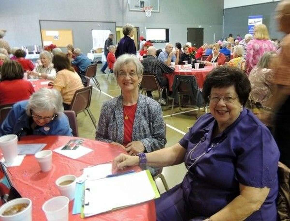 Luncheon attendees enjoy performances at Jersey Village Baptist Church, hosted by Commissioner R. Jack Cagle's Senior Adult Program.