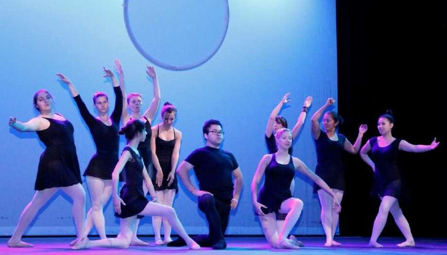 Students perform on stage during their end-of-semester concert last spring. The community is invited to see the students perform this semester on April 17 during Dancescape.