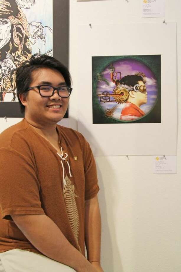 Cypress Ranch senior Miguel Guerrero was one of five CFISD national winners in the 2014 Scholastic Art & Writing Awards. Guerrero won a silver medal in the Art Individual Entry category for his digital art piece, Loose Screws. Photo: Amanda Arnold