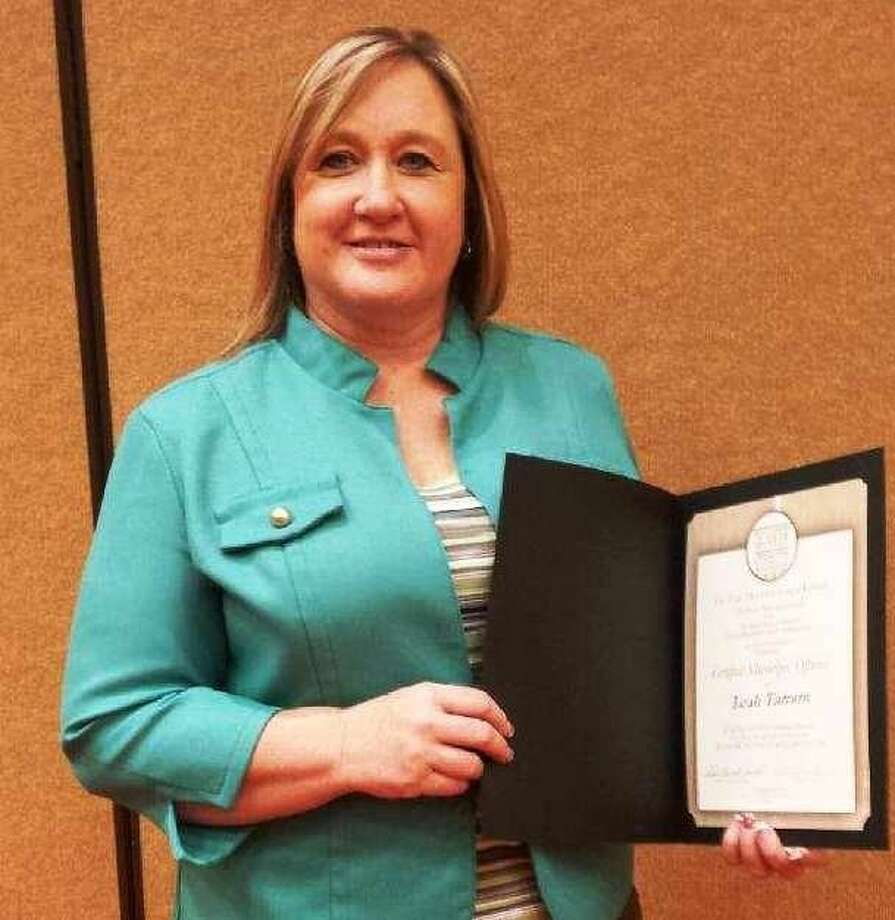 Patton Village Mayor Leah Tarrant is a recent recipient of the Certified Municipal Official title from the Texas Municipal League. Photo: Stephanie Buckner