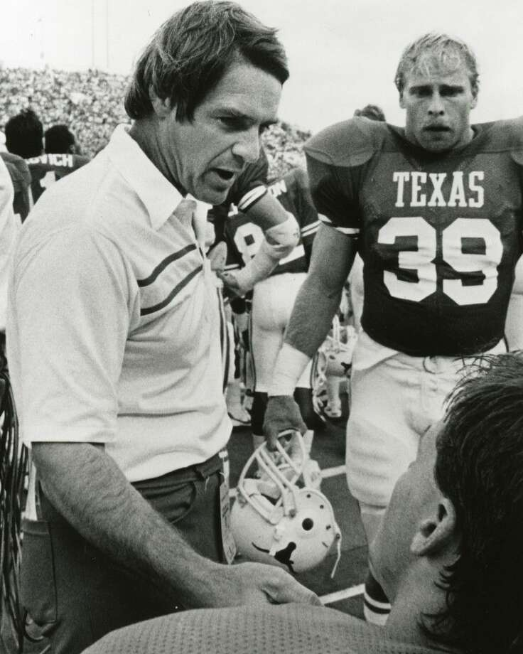 David McWilliams during his days as head coach of the Texas Longhorns.