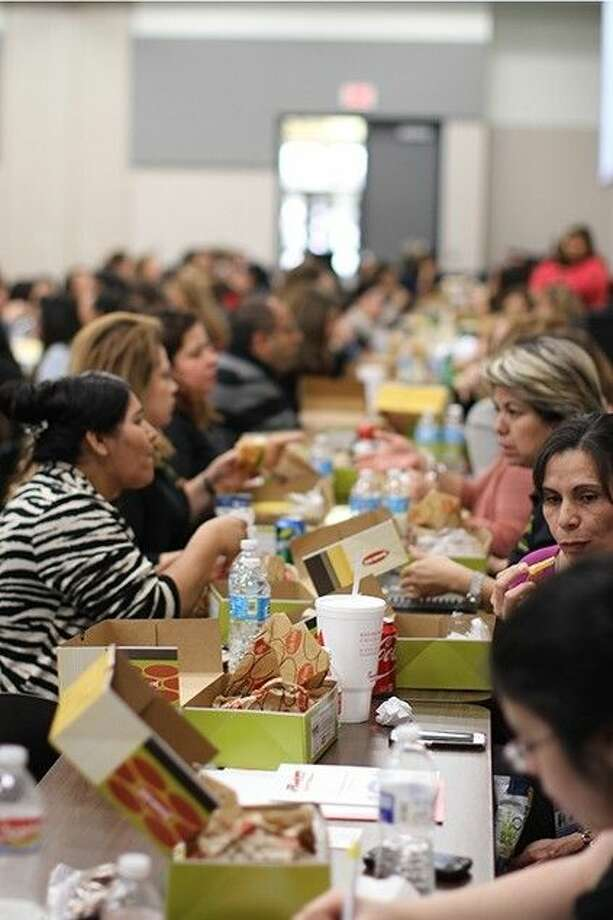 Hundreds of parents filled the Frank Braden Professional Development Facility-Carmen Orozco Center recently for the annual Parent Engagement Conference.