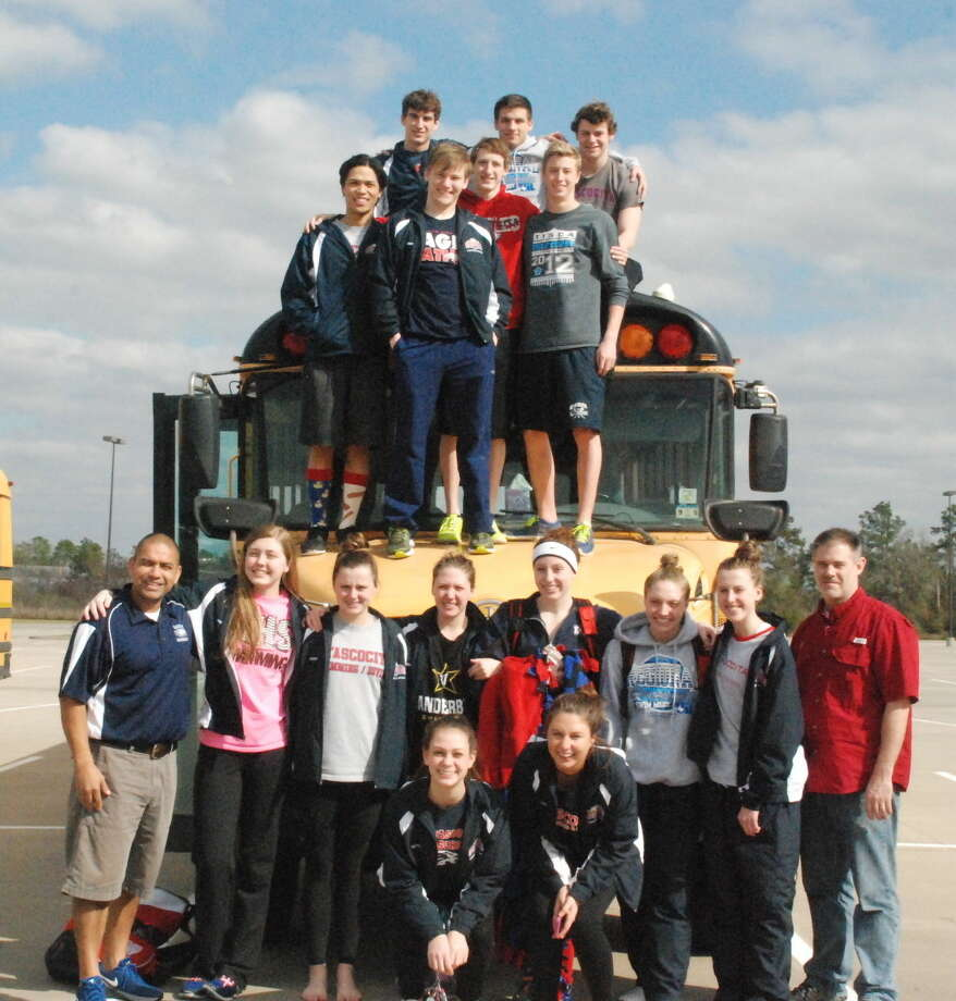 Atascocita swimmers prepare to head to Austin for State Swimming and Diving competition.