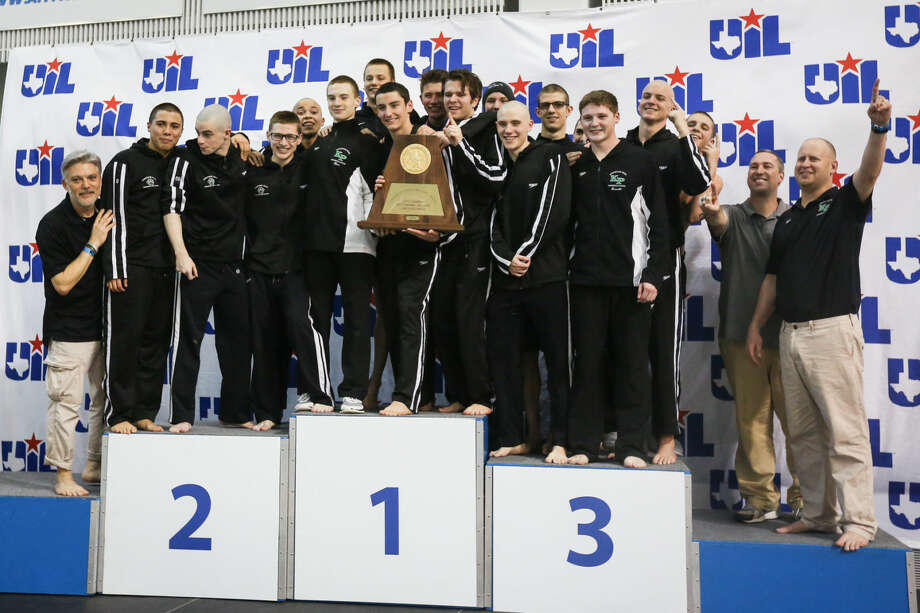 Kingwood Park won 1st overall during the 5A UIL State Swimming and Diving Championships on Saturday, Feb. 21, 2015, at the Lee and Joe Jamail Texas Swimming Center in Austin. To view more photos from the tournament, check out the photo galleries on HCNPics.com. Photo: Michael Minasi