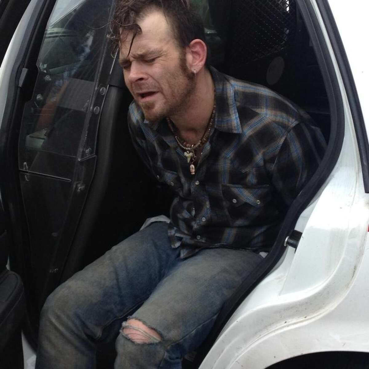 Deputies were able to arrest Nicholas Anthony Joy, 35, from Dayton after being positively identified by the victim.